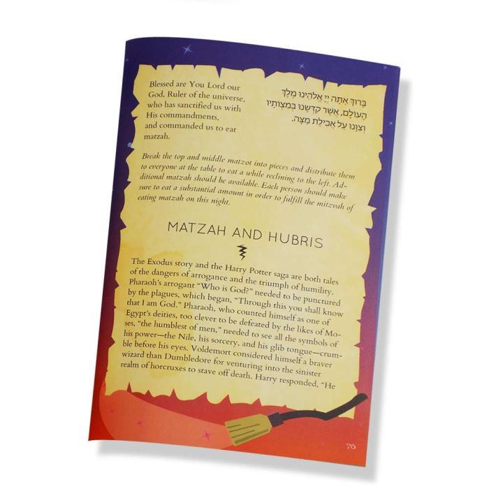 Harry Potter Hogwarts Haggadah-Matzah Page