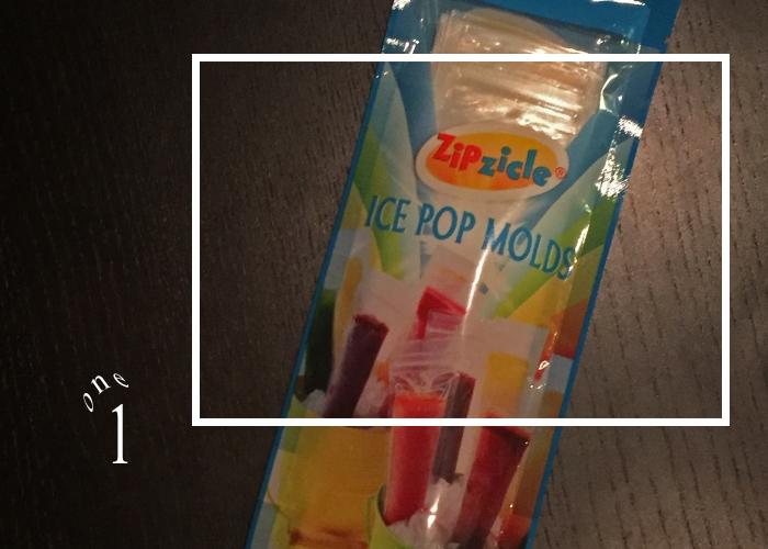 Ice Pop Bags for Peach Bourbon Lemonade Ice Pops