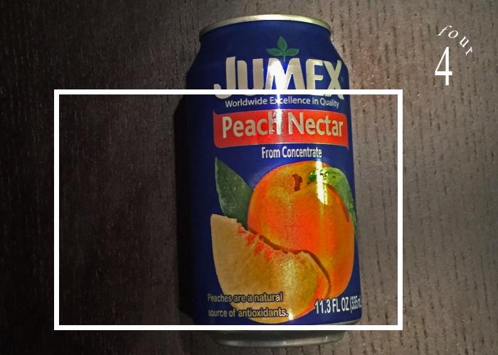 Peach Puree for Peach Bourbon Lemonade Ice Pops