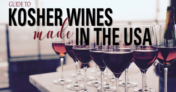 Kosher Wines made in the USA