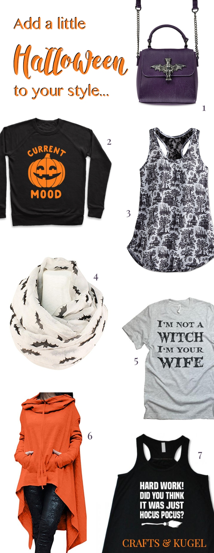Halloween Touches for your Fall Wardrobe