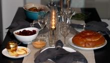 Rosh Hashanah Dinner | Crafts and Kugel