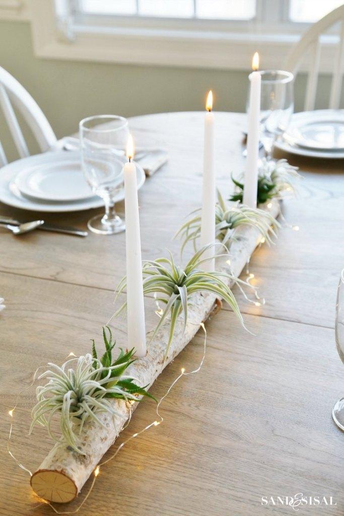 Birch-Log-Centerpiece-with-Air-Plants