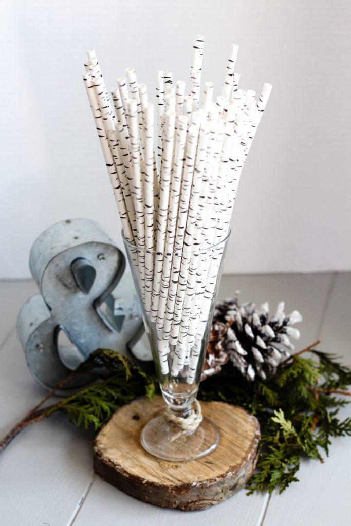 birch tree straws for tu bshevat