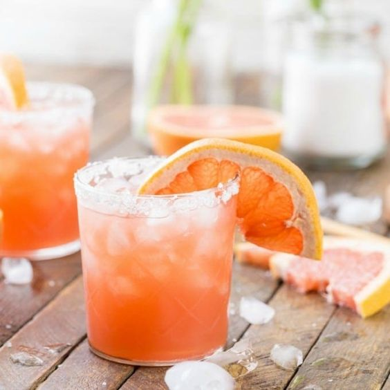 Grapefruit Salty Dog for your Classy Coastal Shabbat | Crafts and Kugel