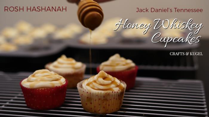 Honey-Whiskey-Cupcakes-for-Rosh-Hashanah-Crafts-and-Kugel