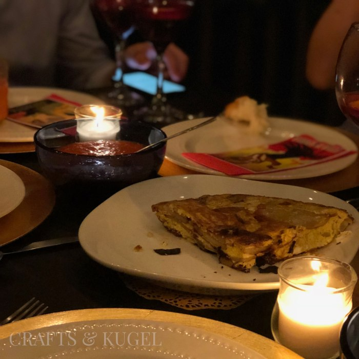 Spanish Tortilla for your Spanish Themed Shabbat Dinner | Crafts and Kugel