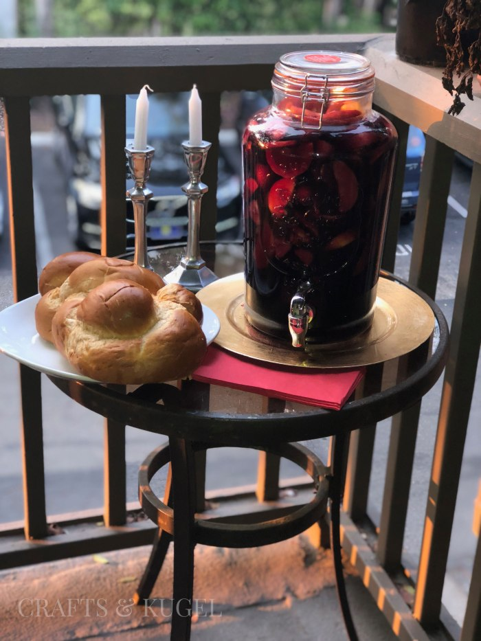 Sangria for your Spanish Themed Shabbat Dinner Crafts and Kugel 8