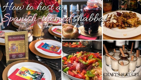 Spanish-Themed-Shabbat-Dinner-Crafts-and-Kugel-Cover