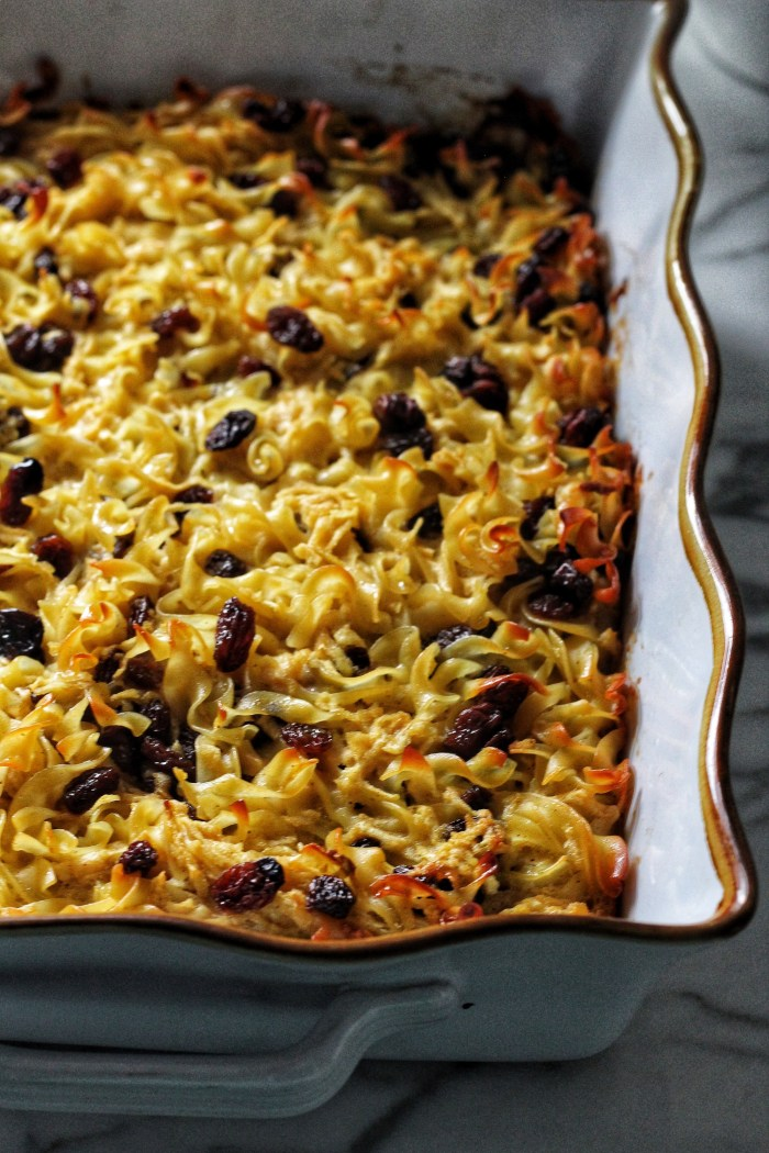 Apple Raisin Noodle Kugel for Rosh Hashanah | Crafts & Kugel