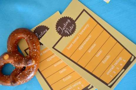 Beer Tasting Notes for your Sukkahfest Party | Crafts and Kugel