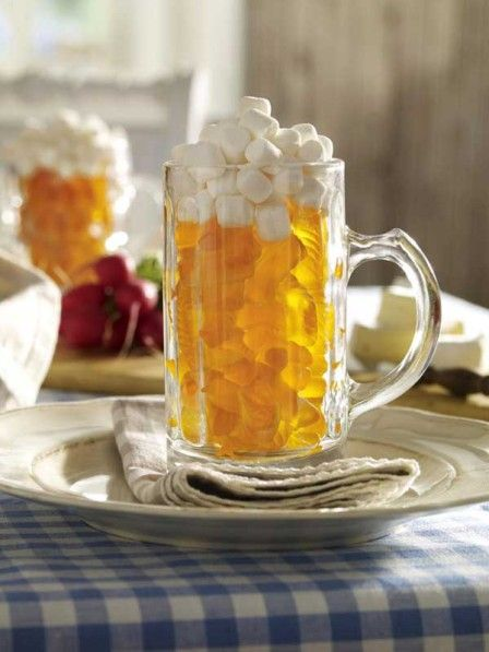 Candy Beer for Kids for Sukkahfest; Oktoberfest in the Sukkah | Crafts and Kugel