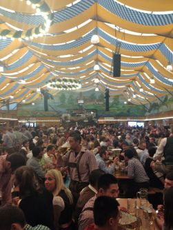 Oktoberfest Streamer Inspiration for your Sukkah   Crafts and Kugel
