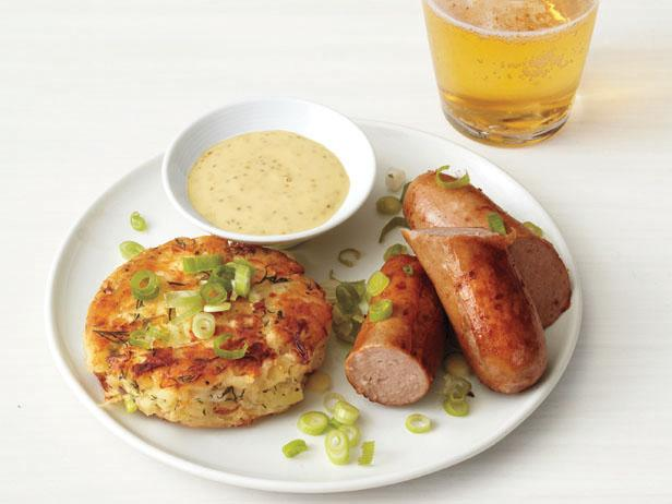 Potato Pancakes and Sausage for Sukkahfest, Oktoberfest in your Sukkah